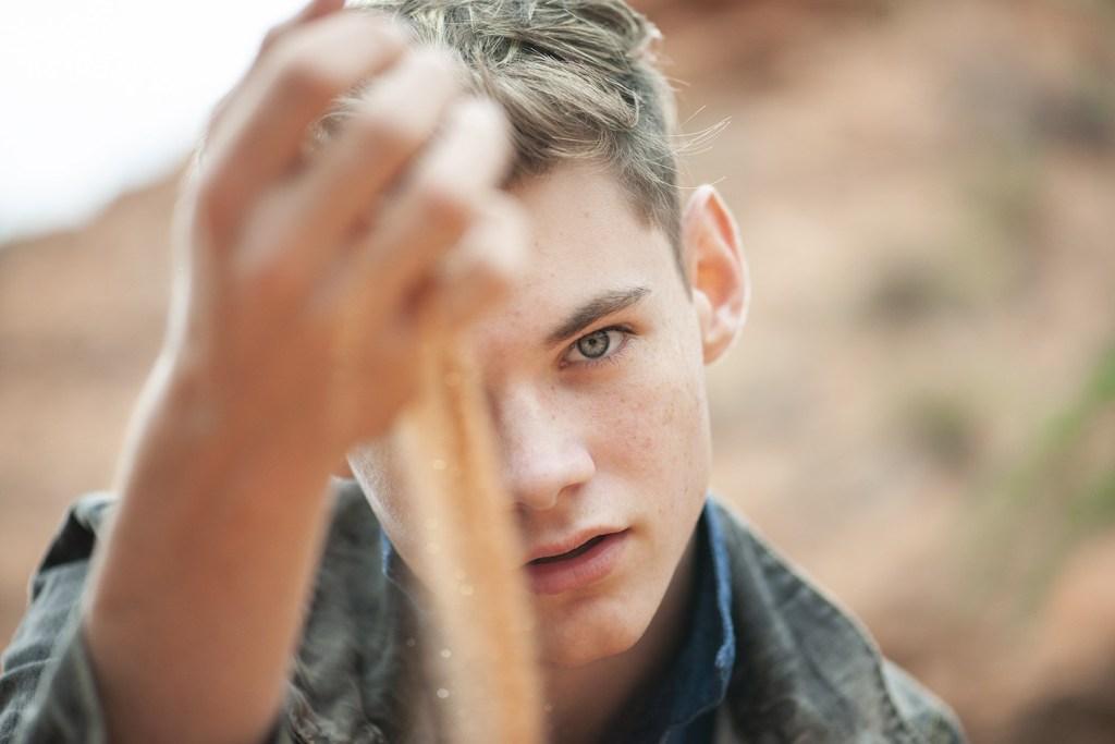 Bryce Miller - teenage model photo