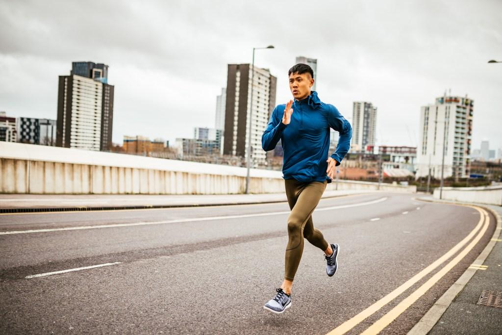 Donald Sze jogging