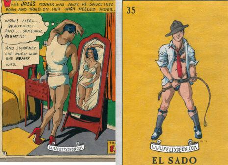 Homoerotic drawings